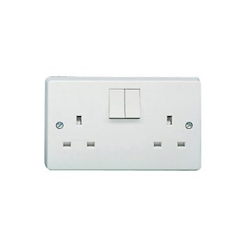 White Switches & Sockets